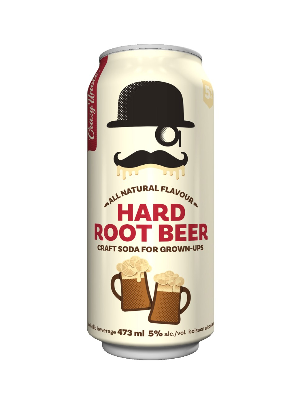 Crazy Uncle Hard Root Beer For Grown Ups