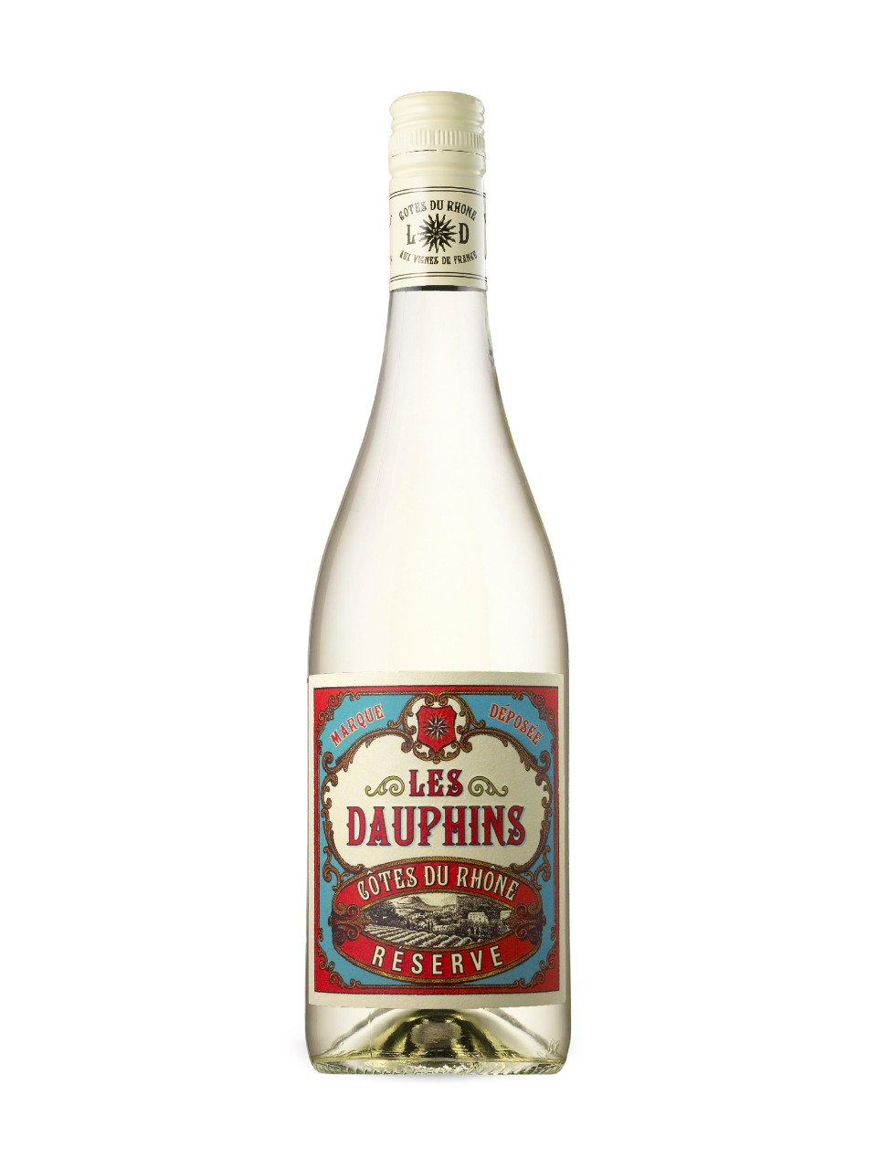 Les Dauphins CdRhone Reserve White AOC