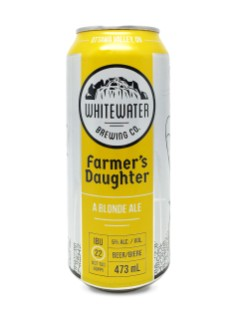 Whitewater Brewing Co.  Farmer's Daughter