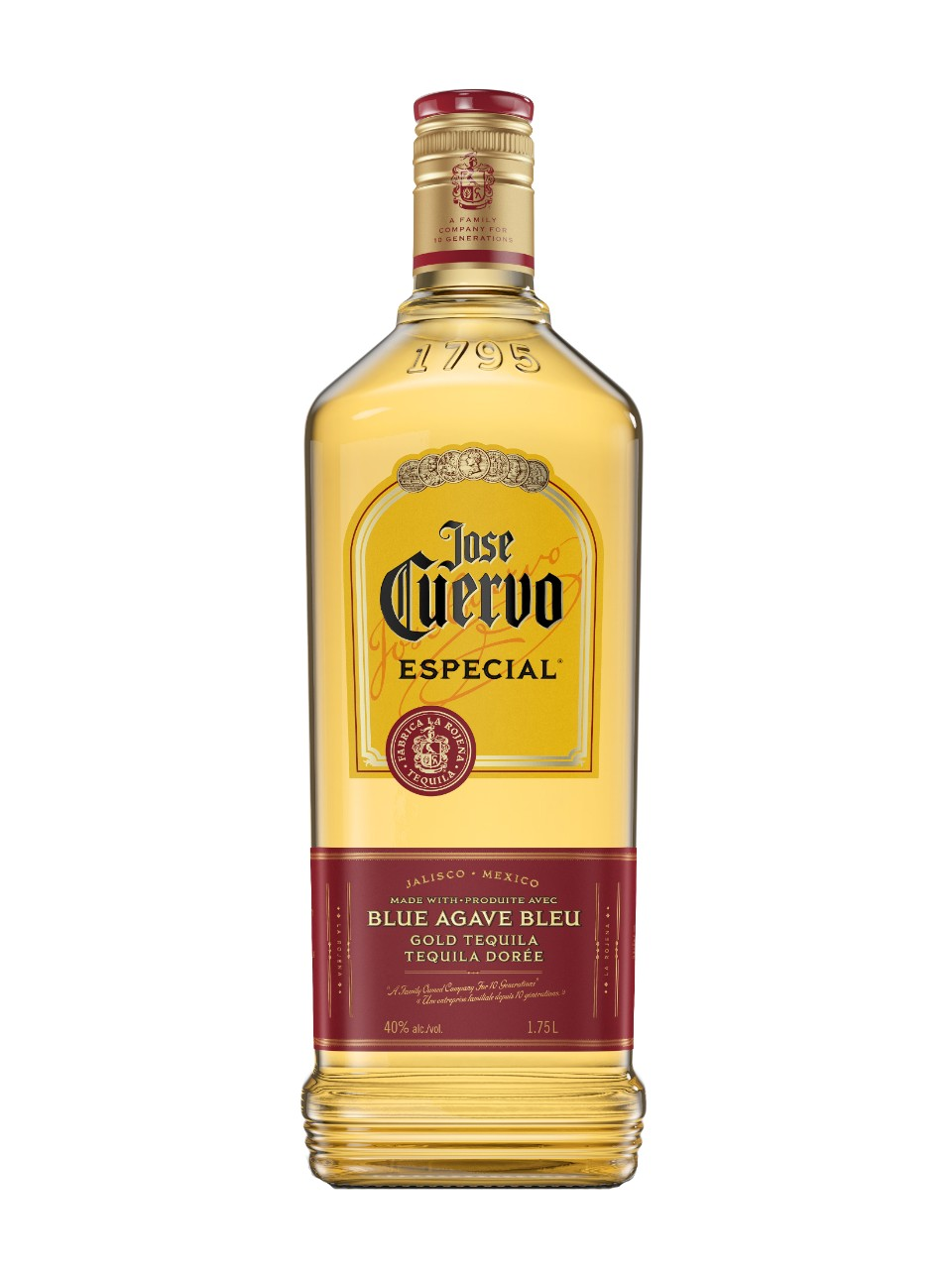 Image for Jose Cuervo Gold Tequila from LCBO
