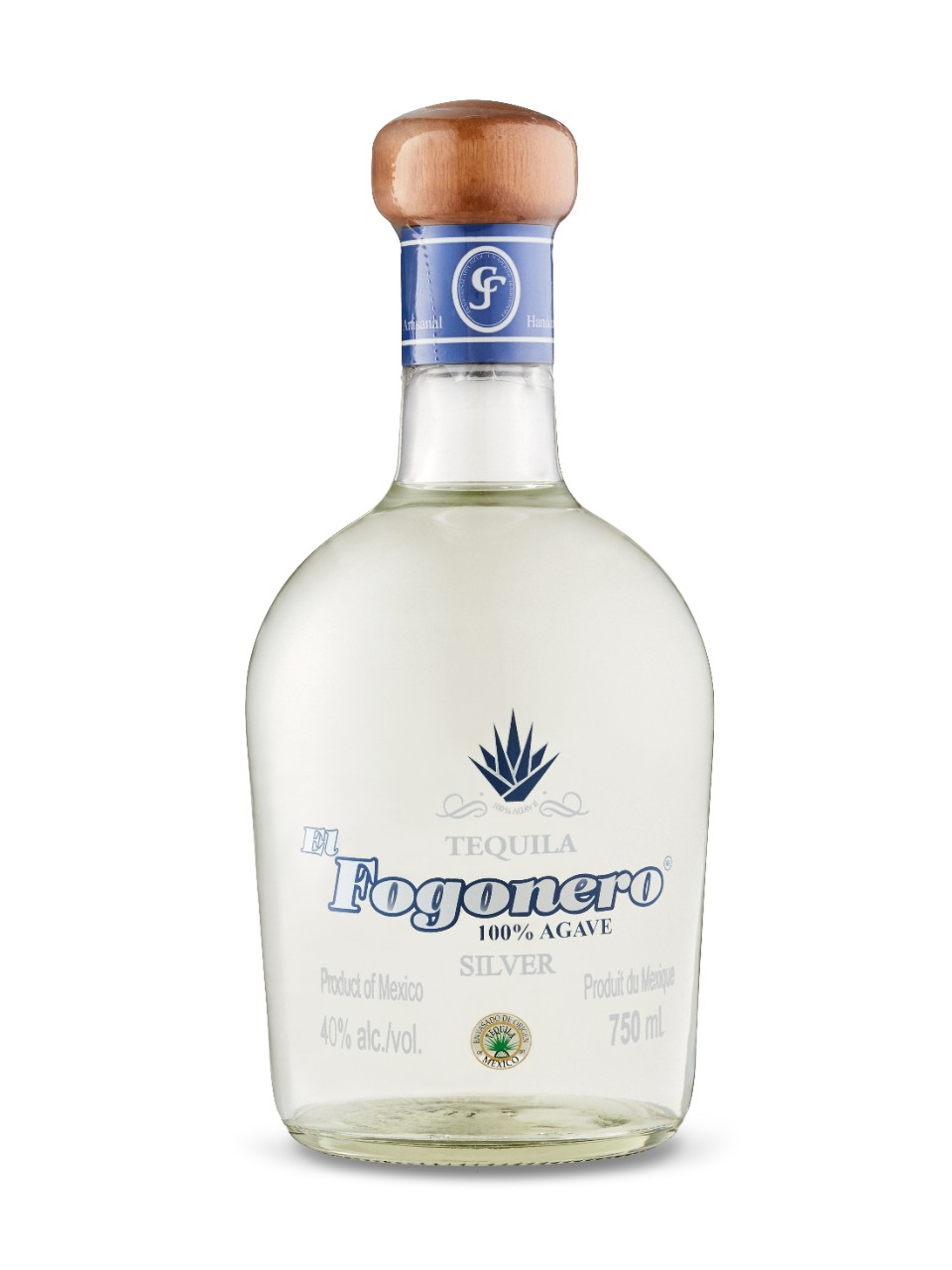 Image for El Fogonero Tequila Silver from LCBO