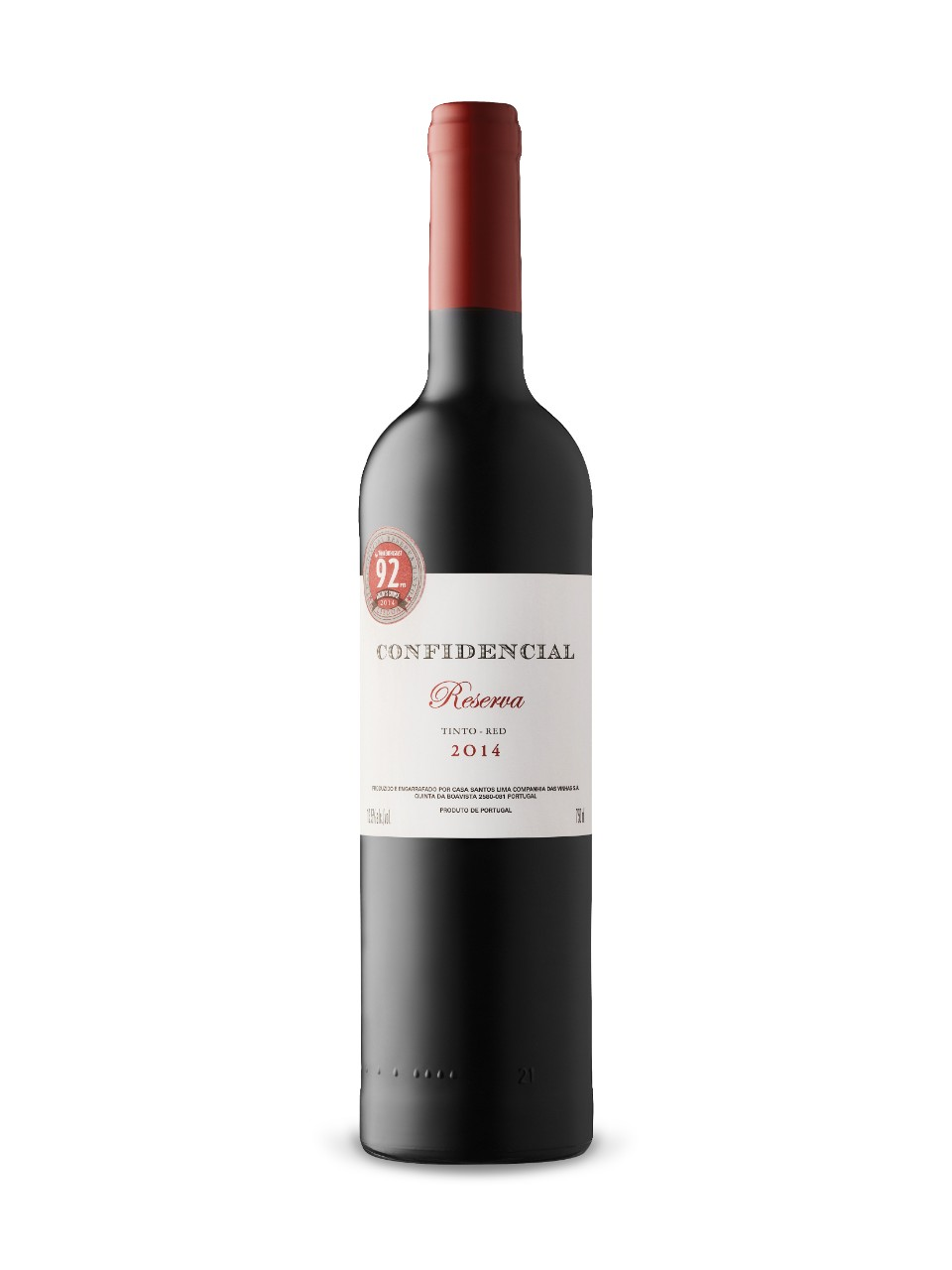 Image for Confidencial Reserva 2014 from LCBO