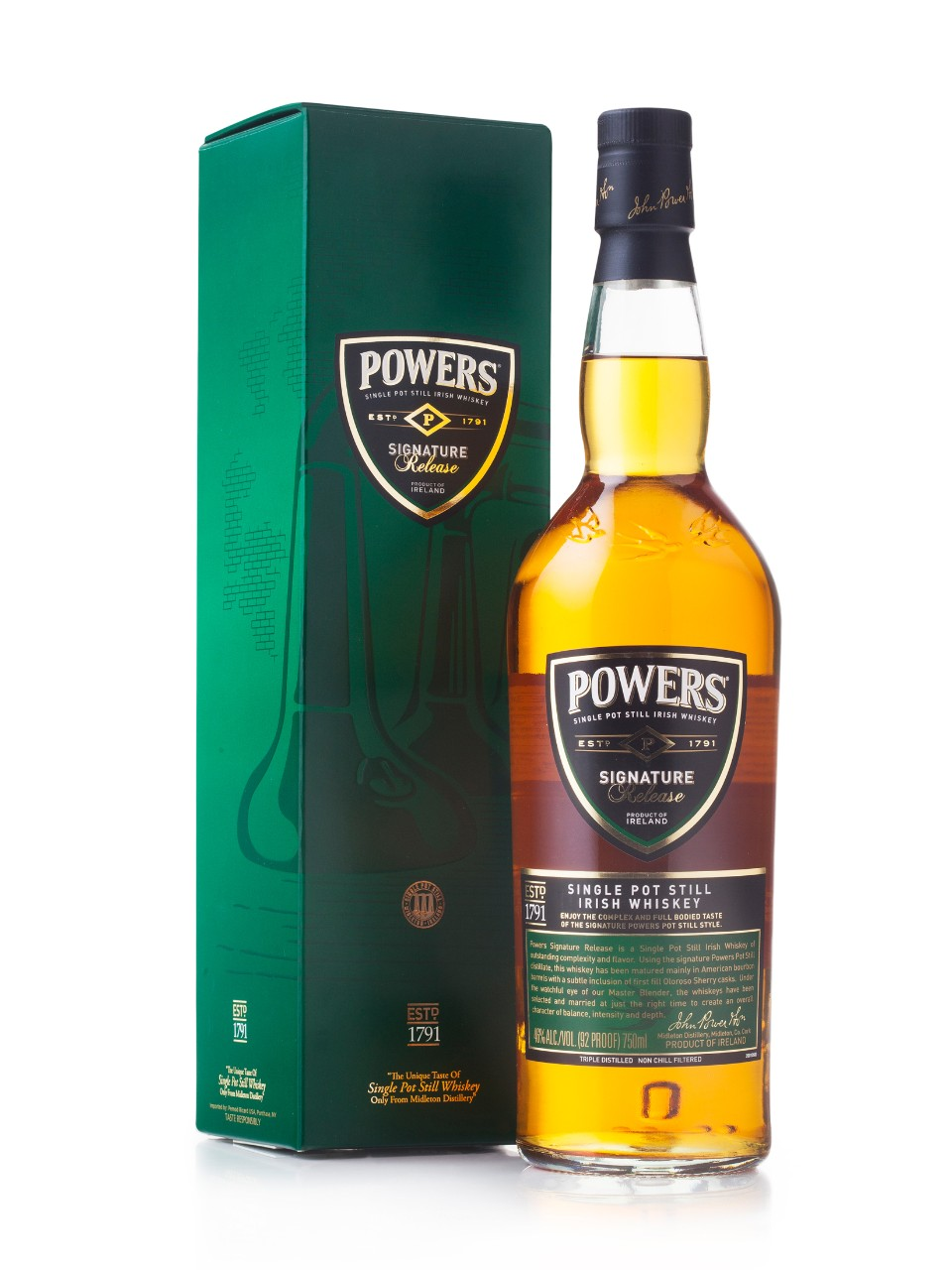 Whiskey irlandais Powers Signature