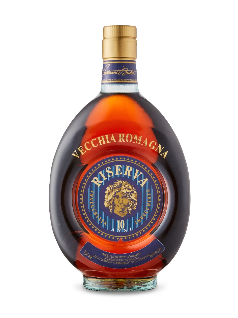 Image for Buton Vecchia Romagna 10 Year Old Brandy from LCBO