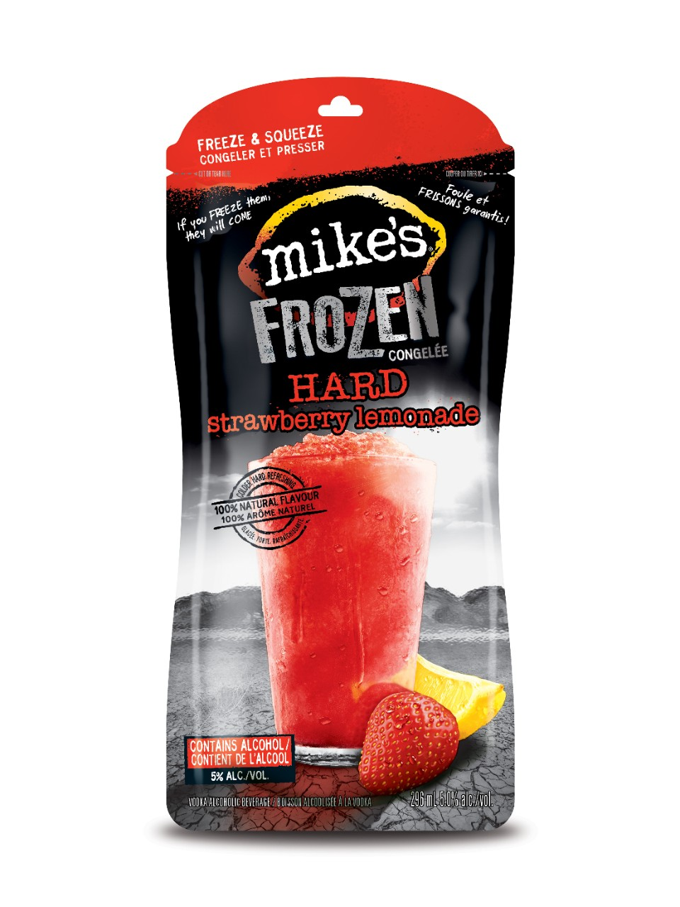 Image for Mike's Hard Strawberry Lemonade Frozen from LCBO