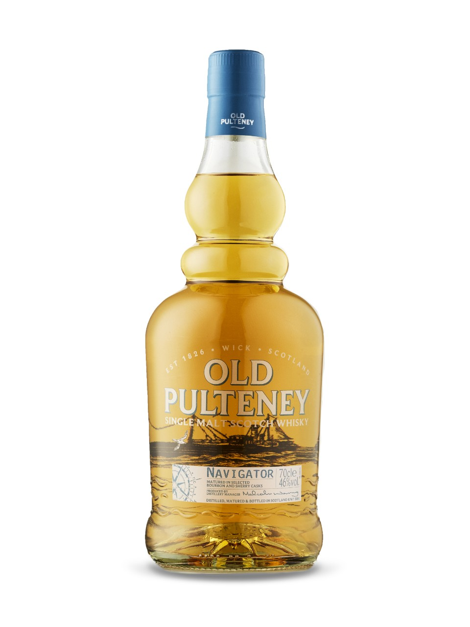 Whisky écossais Single Malt Old Pulteney Navigator