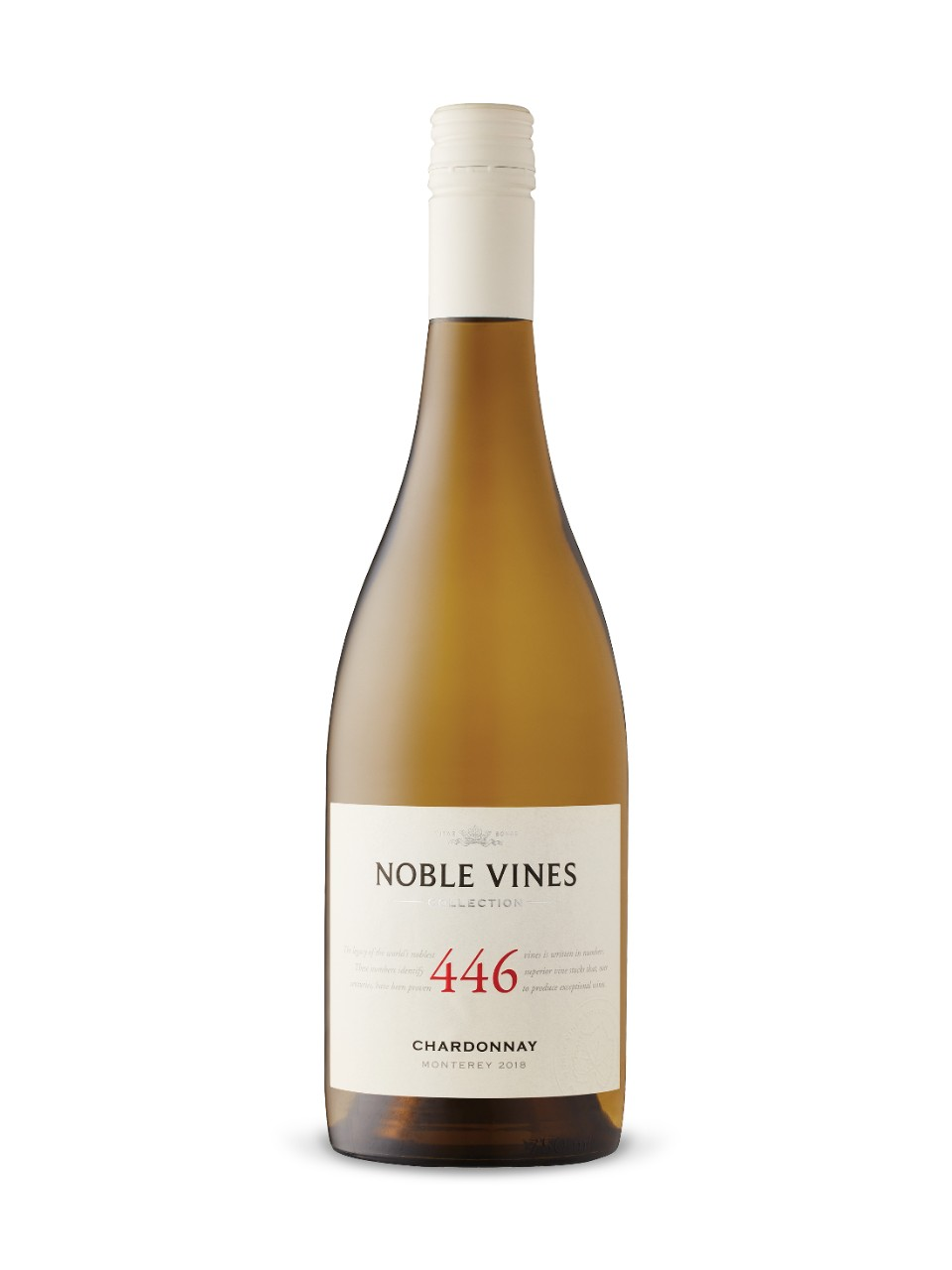 Image for Noble Vines Collection 446 Chardonnay 2017 from LCBO