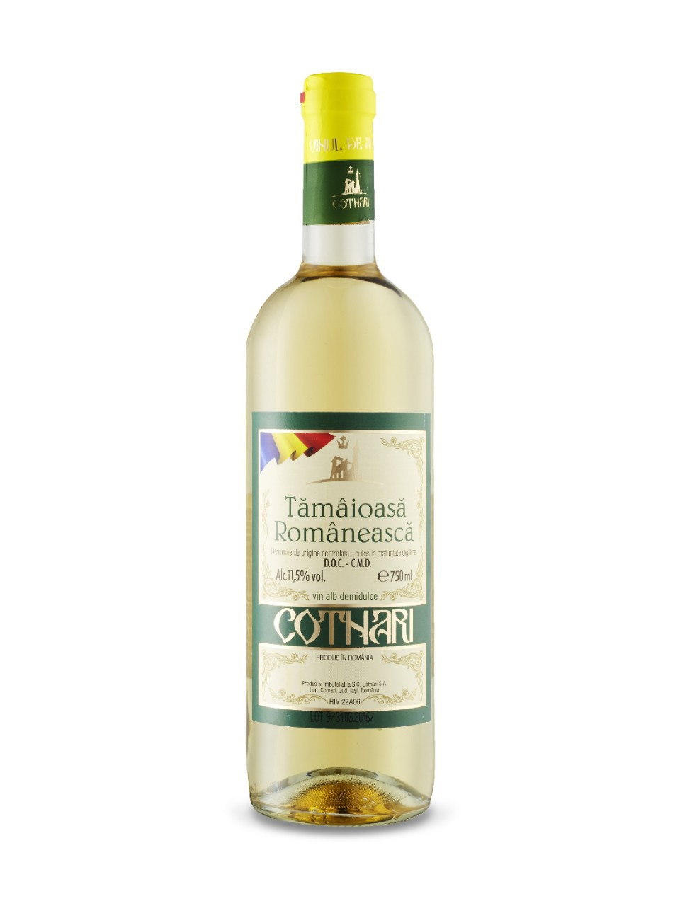 Image for Tamaioasa Romaneasca Cotnari DOC from LCBO
