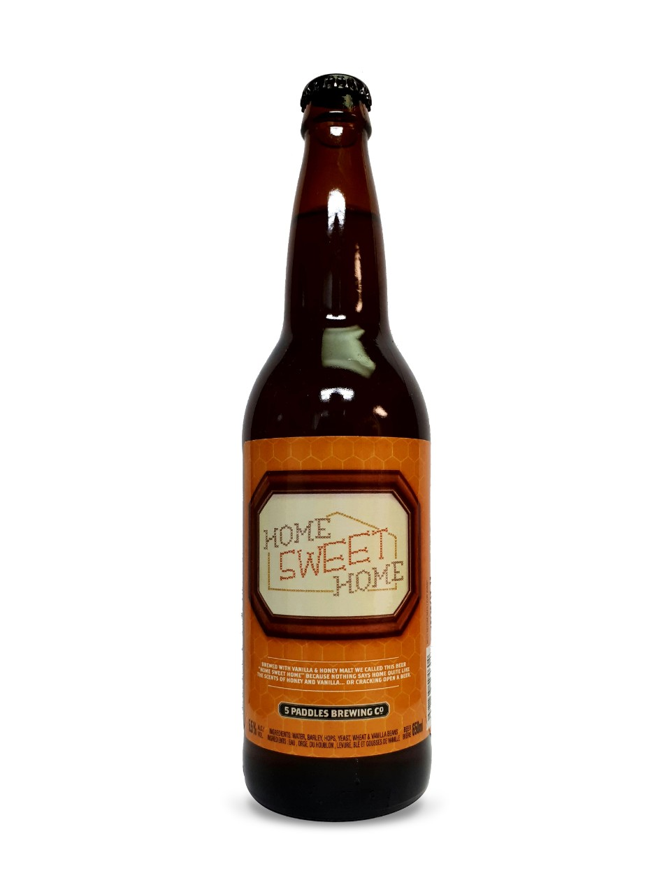 Image for 5 Paddles Brewing Home Sweet Home from LCBO