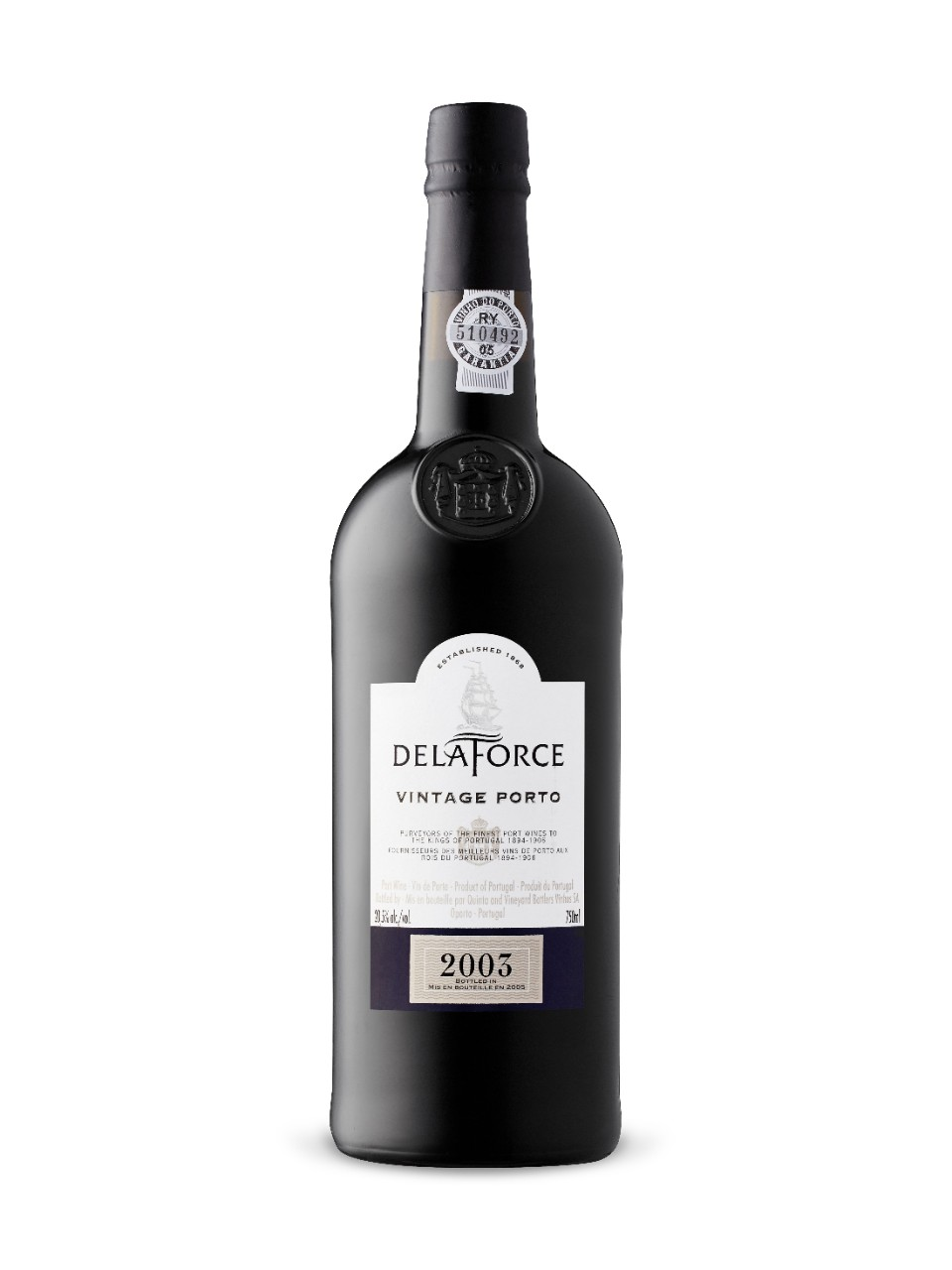 Image for Delaforce Vintage Port 2003 from LCBO