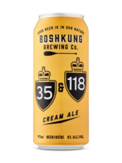 Boshkung Brewing Co 35 & 118 Cream Ale