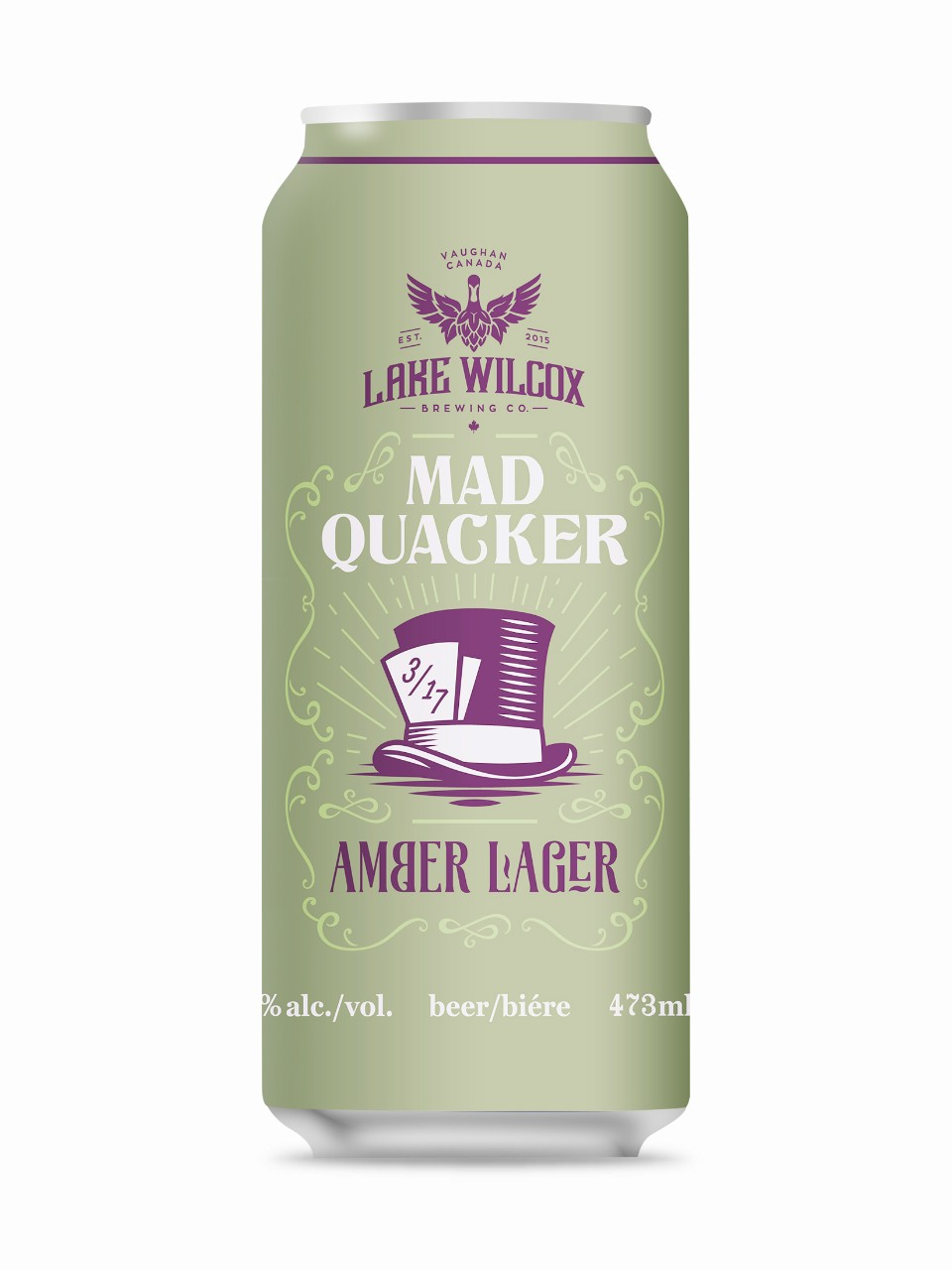 Image for Lake Wilcox Brewing Mad Quacker from LCBO