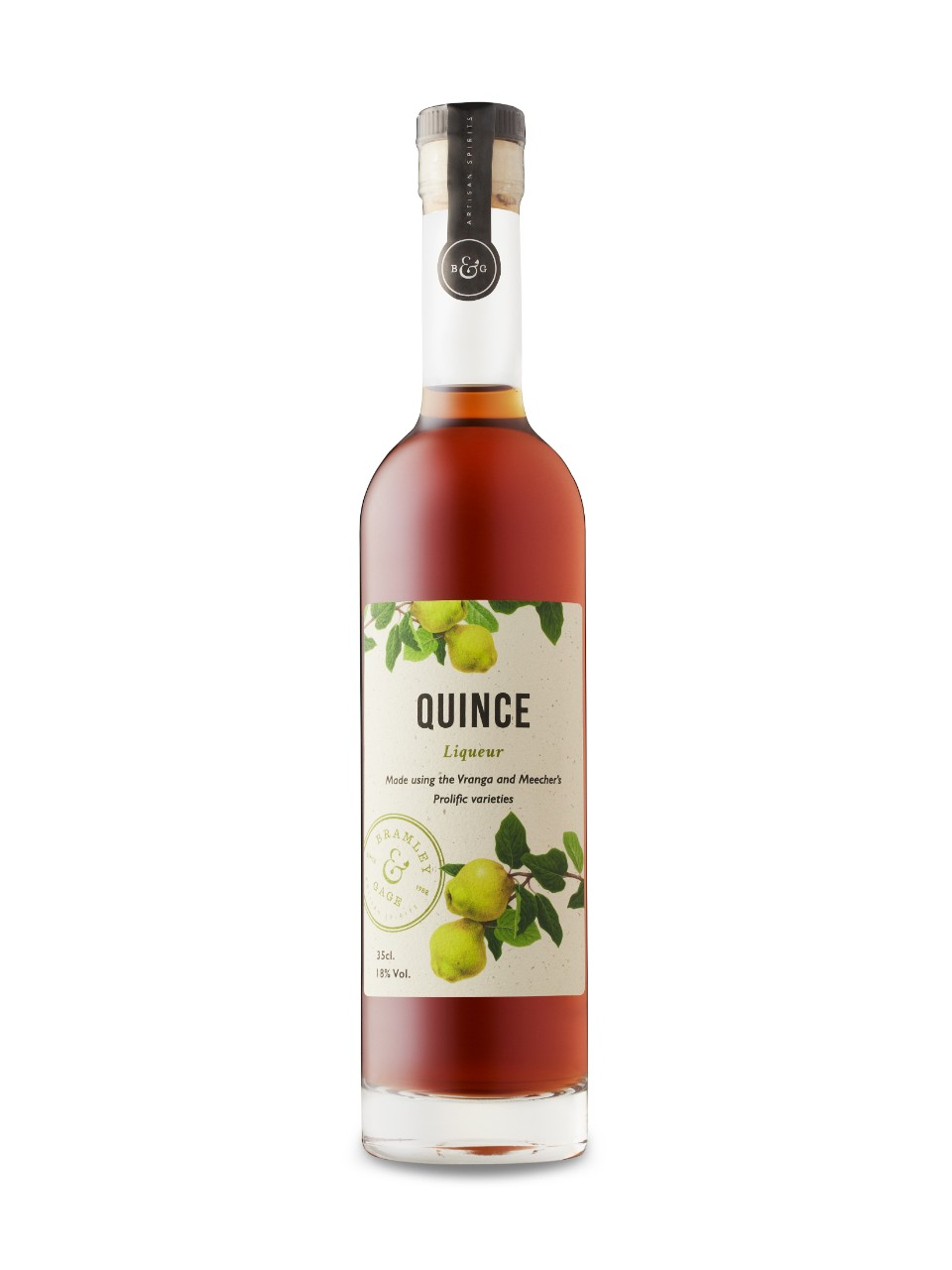 Image for Bramley and Gage Quince Liqueur from LCBO