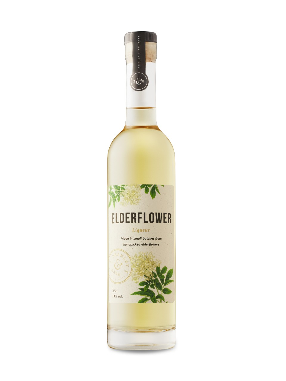 Image for Bramley and Gage Elderflower Liqueur from LCBO