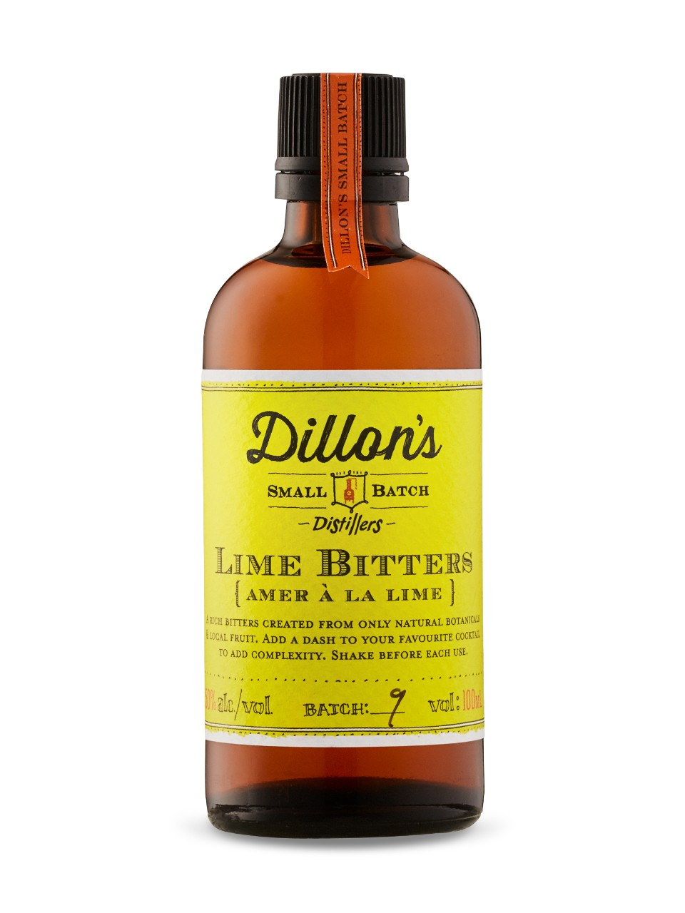 Image for Dillon's Bitters Lime from LCBO