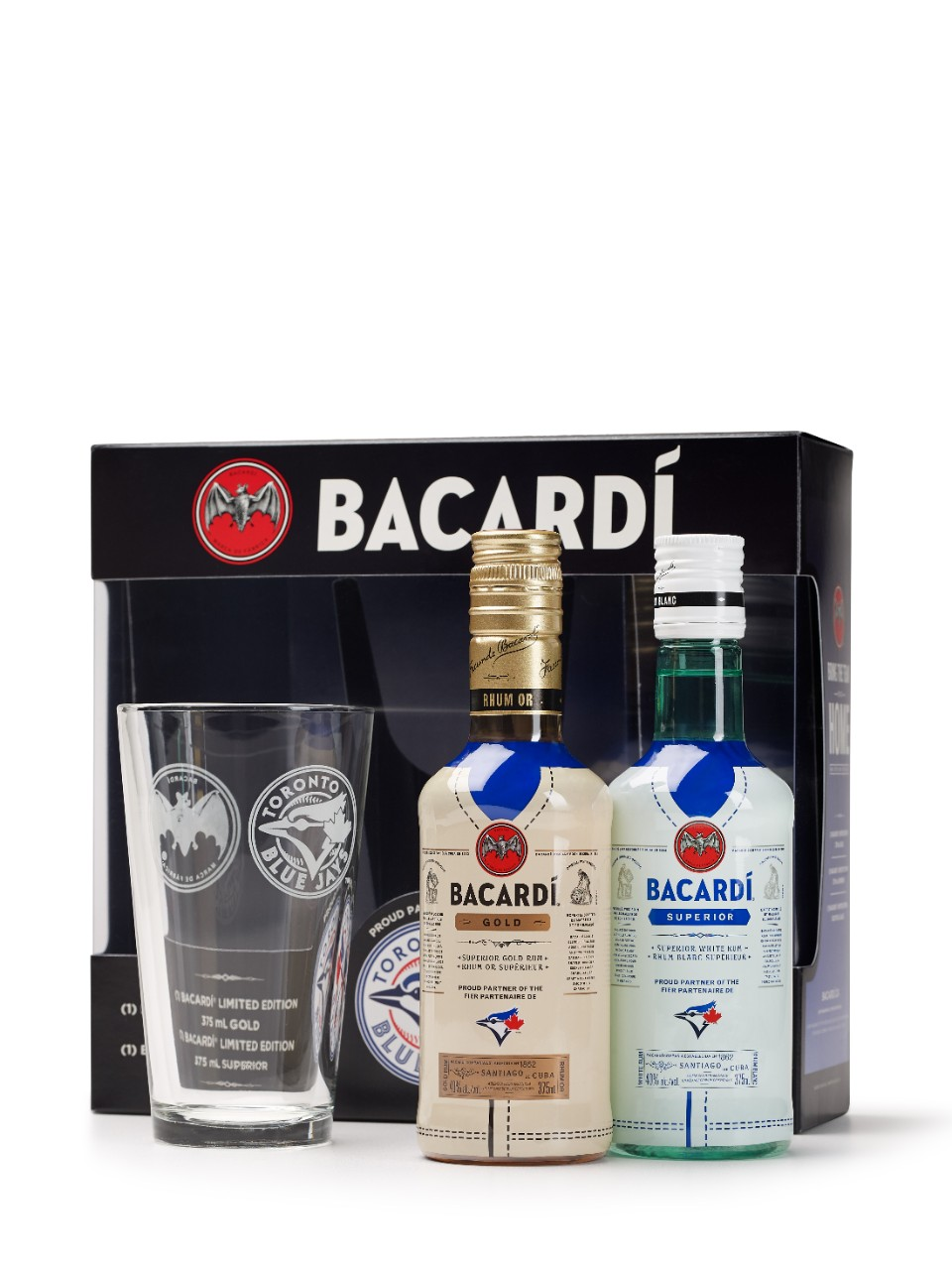Bacardi Superior & Bacardi Gold With Glass (PET)                                                                                -A
