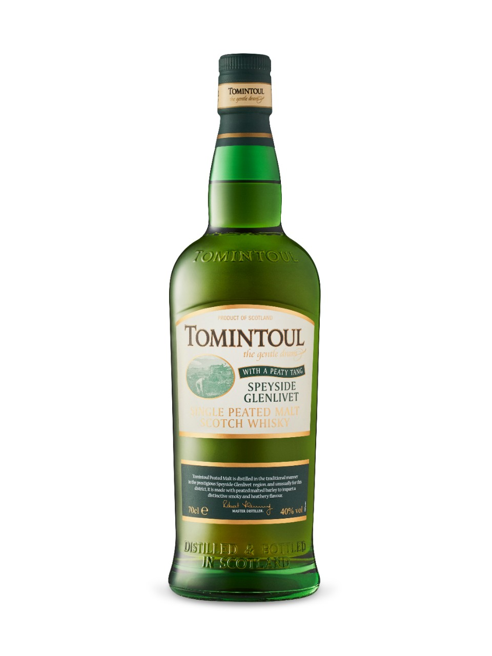 Image for Tomintoul Speyside Glenlivet Peaty Tang Single Malt Scotch Whisky from LCBO