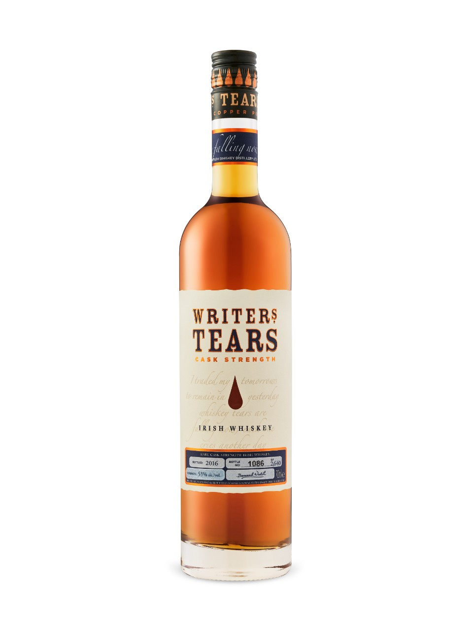 Writers Tears Limited Cask Strength Irish Whiskey