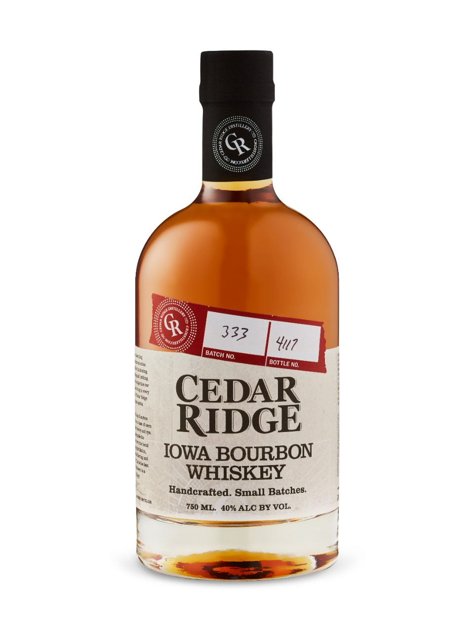Iowa Bourbon Cedar Ridge
