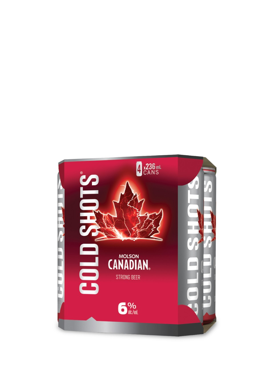 Molson Canadian Cold Shots 6.0 from LCBO