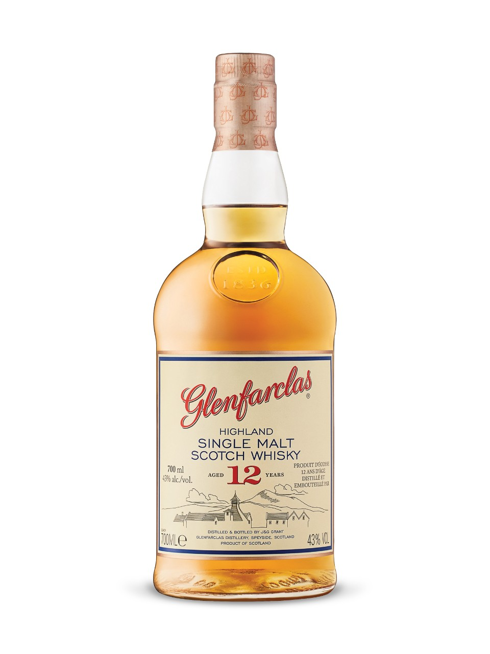 Glenfarclas12-Year-Old Highland Single Malt Scotch Whisky from LCBO