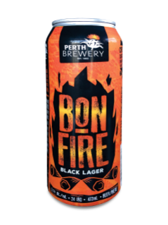 Perth Brewery Bonfire Black Lager