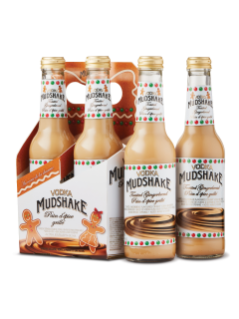 Vodka Mudshake Toasted Gingerbread