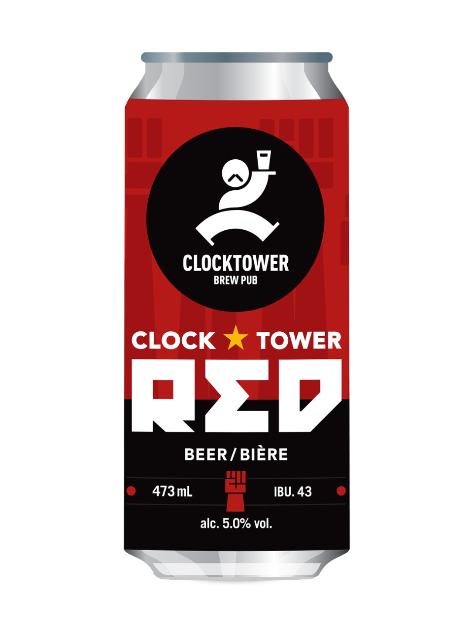 Clocktower Red