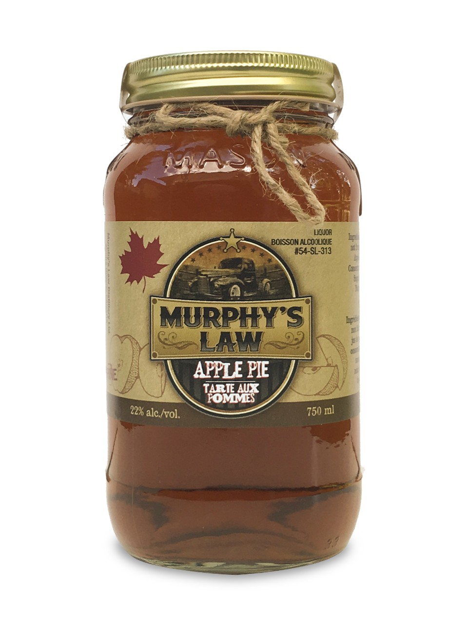 Image for Murphy's Law Apple Pie Moonshine from LCBO