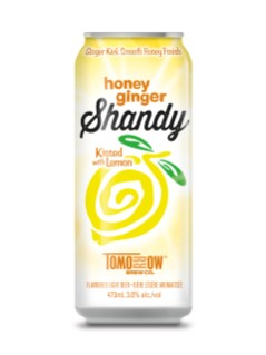Old Tomorrow Honey Ginger Shandy