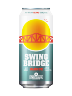 Manitoulin Brewing Swingbridge Blonde Ale