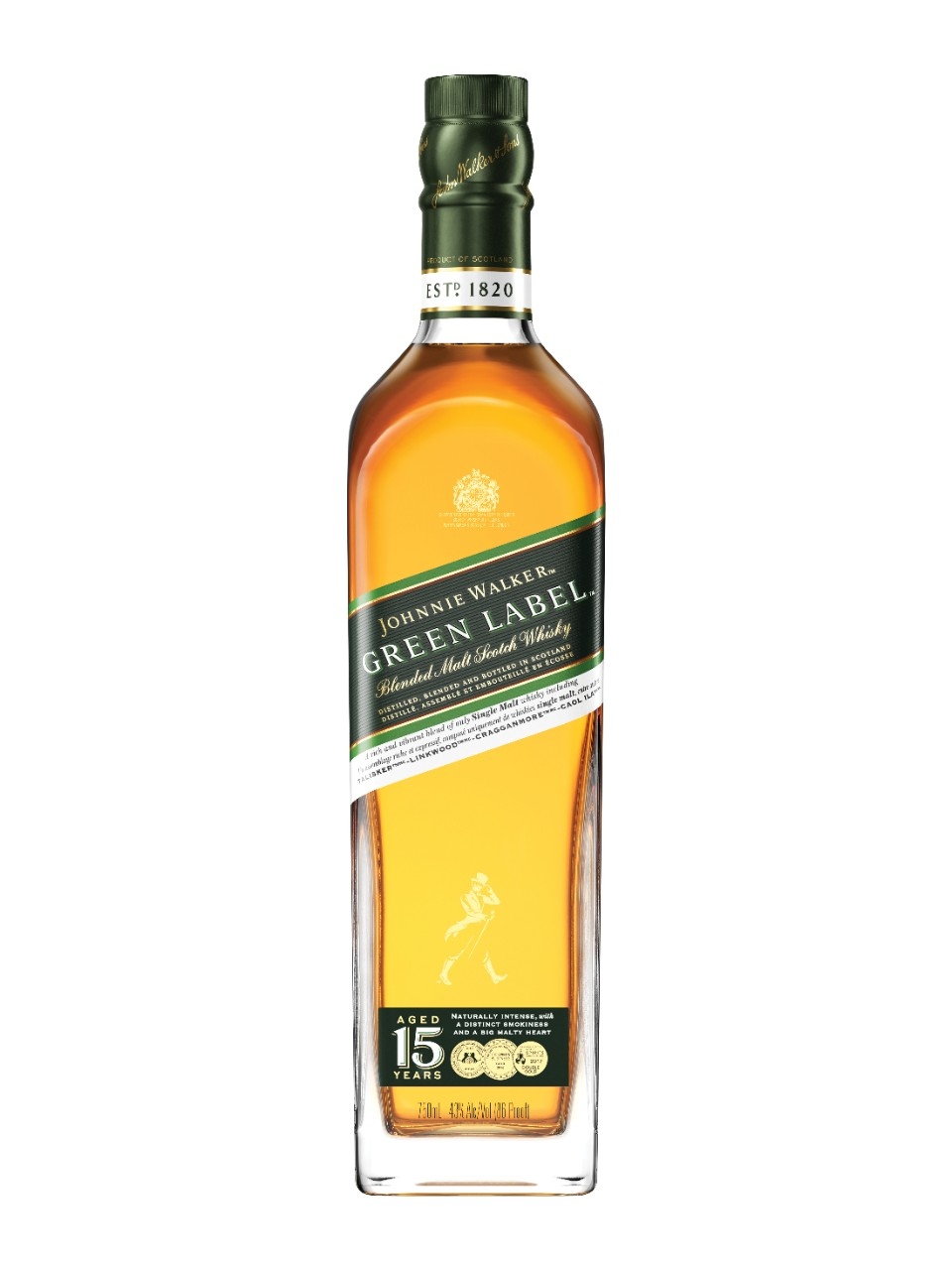 Johnnie Walker Green Label Scotch Whisky                                                                                        -A