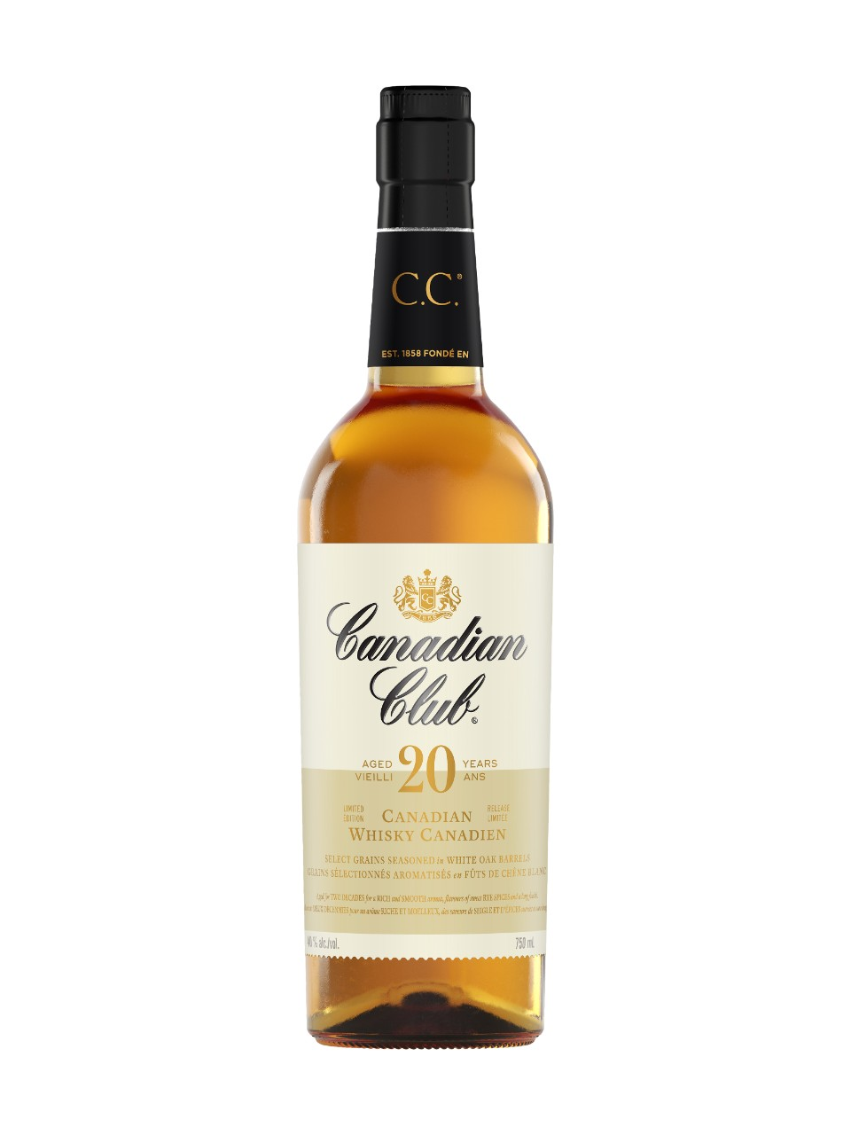 Image for Canadian Club 20 Year Old Whisky from LCBO