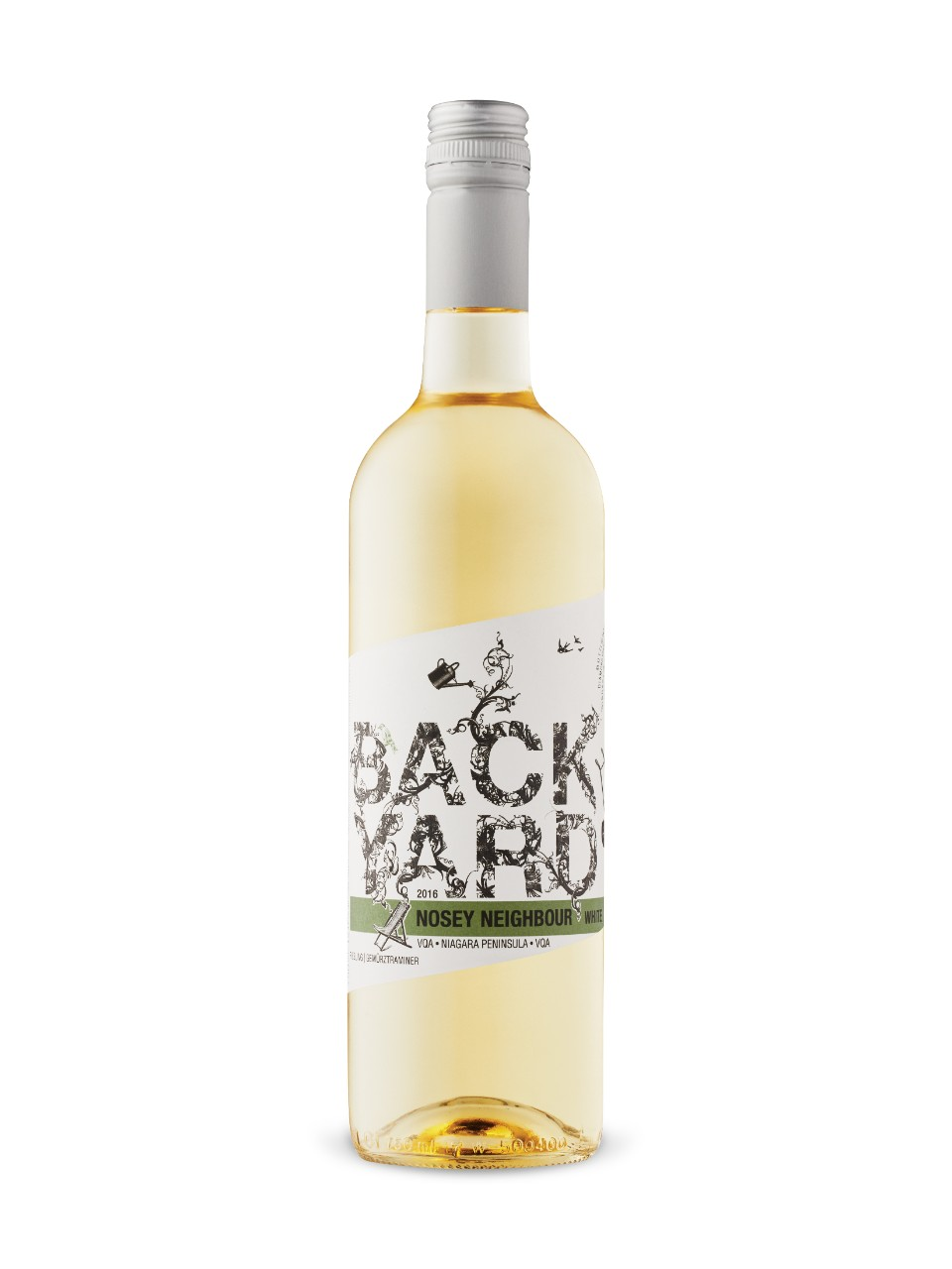 Image for Backyard Vineyards Nosey Neighbour White 2016 from LCBO