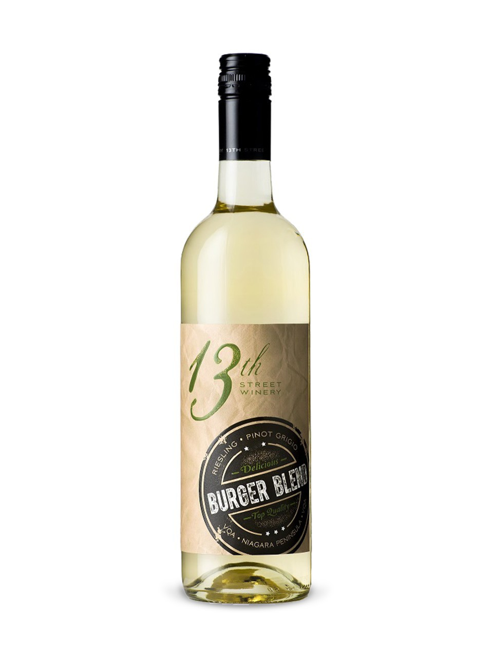 Image for 13th Street Burger Blend Riesling Pinot Grigio VQA from LCBO