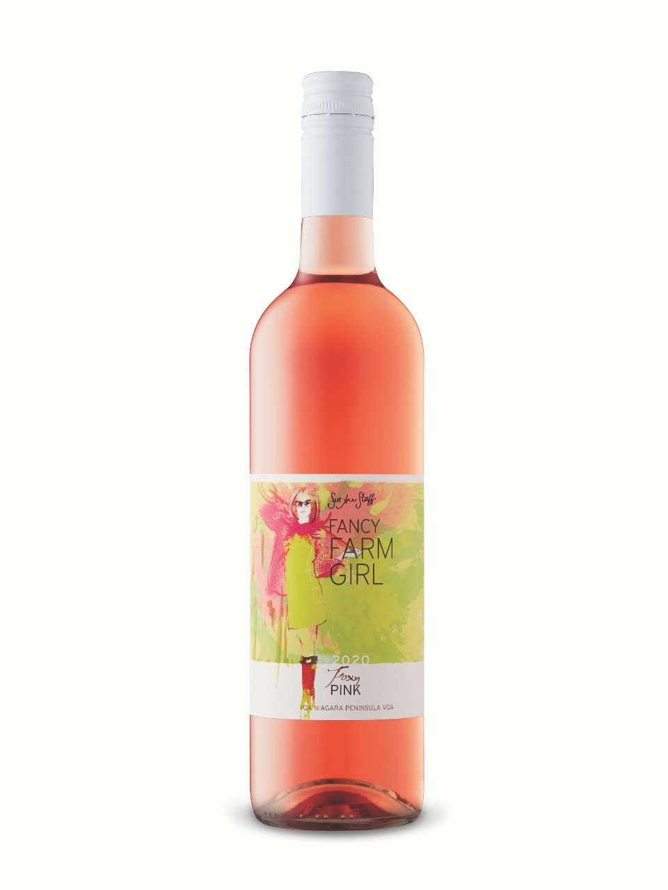 Sue-Ann Staff Fancy Farm Girl Foxy Pink Rosé 2019 from LCBO