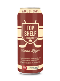 Lake of Bays Top Shelf Vienna Lager
