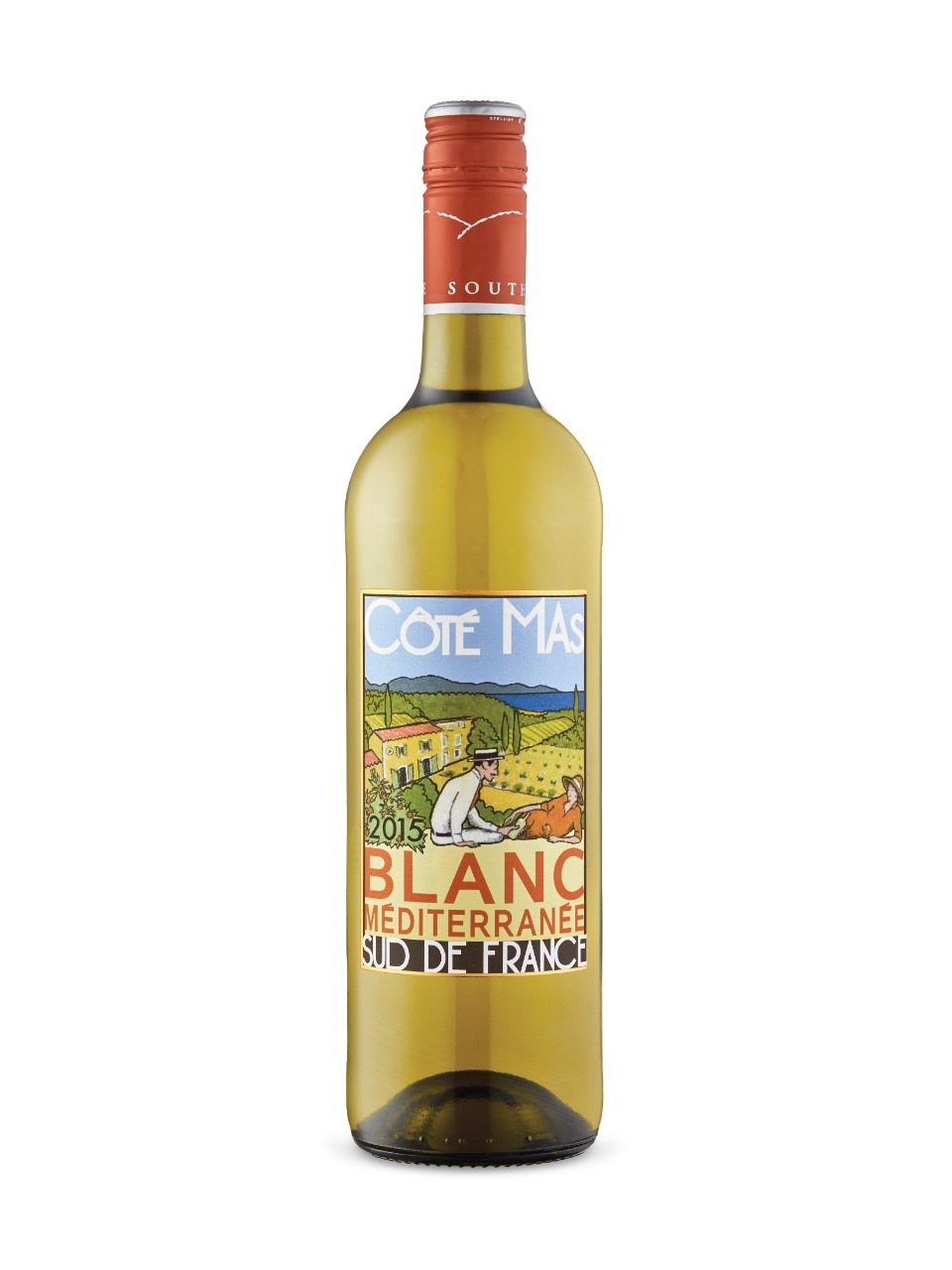 Image for Cote Mas Blanc Mediterranee Vin De France from LCBO