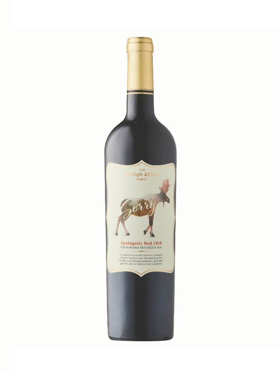 Image for Foreign Affair Apologetic Red 2015 from LCBO