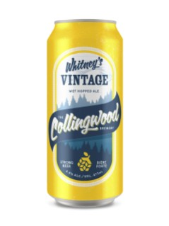 Collingwood Brewery Whitney's Vintage Ale
