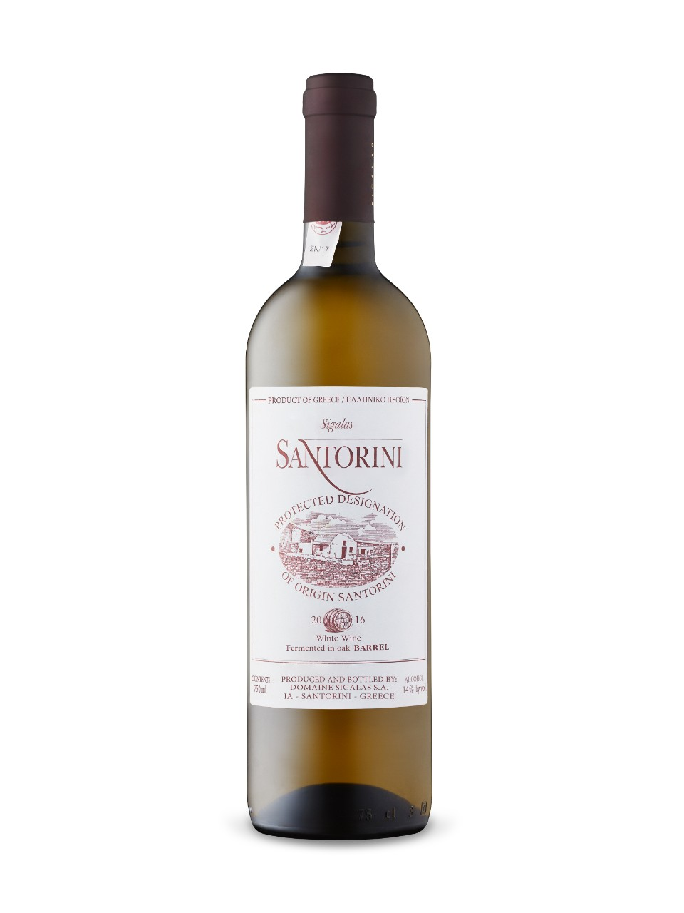 Image for Domaine Sigalas Santorini 2016 from LCBO
