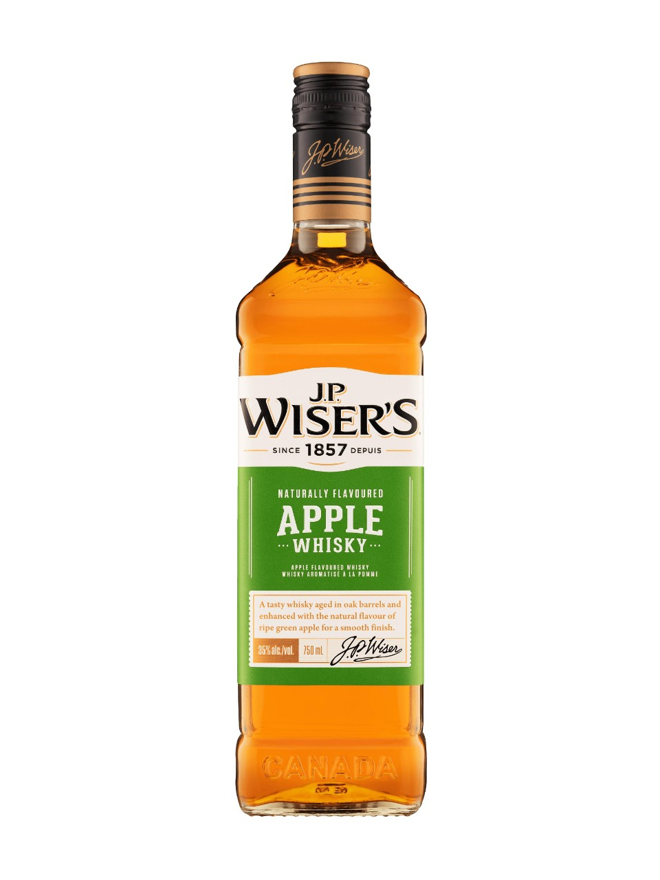 J.P. Wiser's Apple Whisky from LCBO