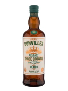 Dunville's 3 Crowns Peated Irish Whiskey