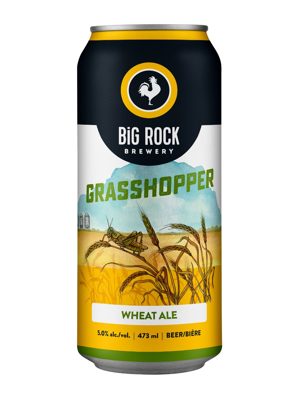 Image for Big Rock Grasshopper Ale from LCBO