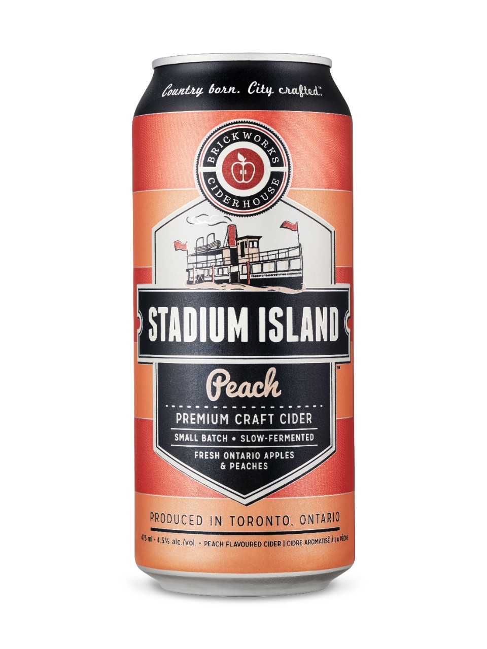 Image for Brickworks Ciderhouse Stadium Island Peach Cider from LCBO