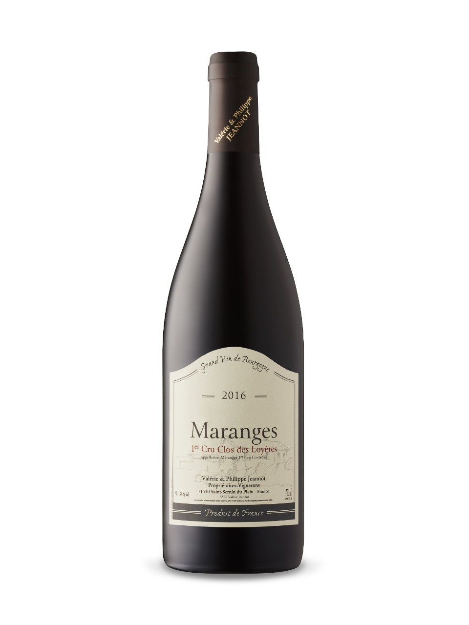 Image for Domaine Jeannot Maranges 1er cru 'Clos des Loyères' 2016 from LCBO