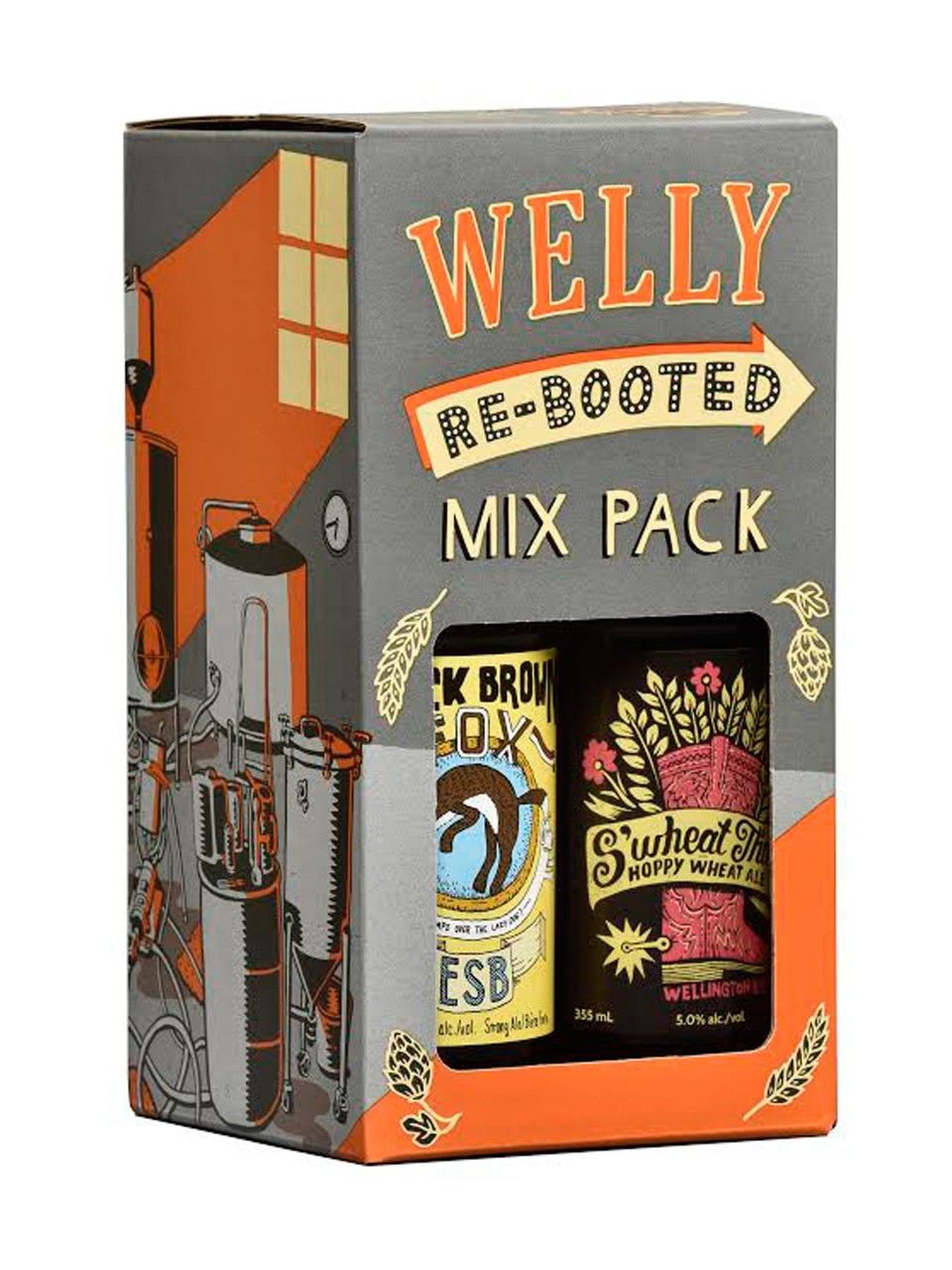 Welly Rebooted Mixed Pack