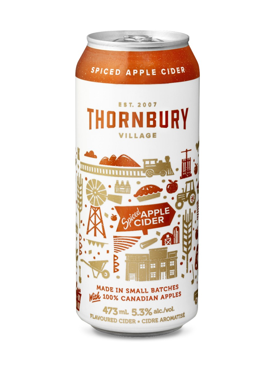 Image for Thornbury Village Spiced Apple Cider from LCBO