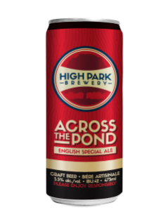 High Park Brewery Across The Pond English Pale Ale