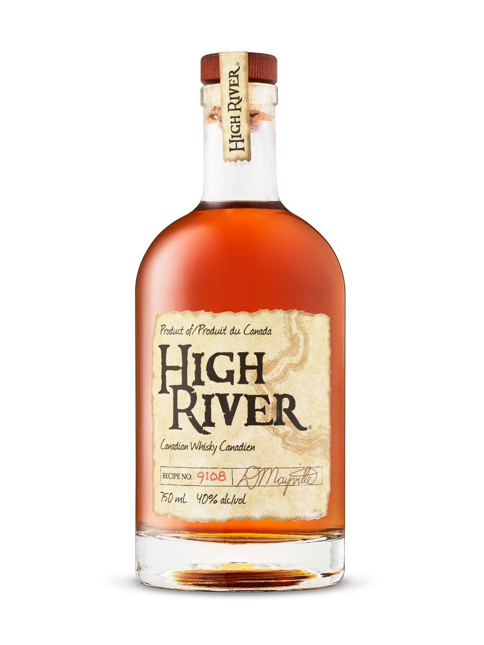 Image for High River Canadian Whisky from LCBO